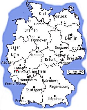 Germany Moselle Valley Vacation Bernkastel Rhineland Map